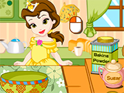 Play Princess Kitchen Belle's Pancakes