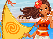 Play Princess Moana's Ship