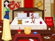 Play Princess Mulan Room Cleaning