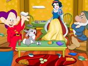 プリンセス白雪姫ルームクリーニング