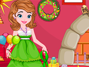 Play プリンセスソフィアクリスマスのクリーンアップ