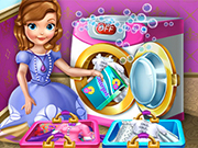 Play Princess Sofia Laundry Day