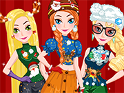 Play Princess Ugly Christmas Sweater Party