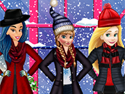 Play Princesses Winter Shopping