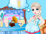 Play Queen Elsa Pregnancy Care
