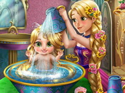 Play Rapunzel Baby Wash
