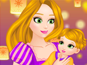 Play Rapunzel Care Newborn baby