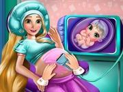 ラプンツェルは、妊娠中のチェックアップ