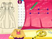 ラプンツェルウエディングドレスのデザイン