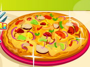 Play Ratatouille Pizza