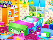 Play Realistic Baby Room Decoration