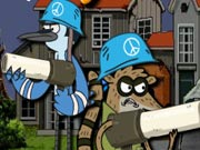 Play Regular Show Military Zone