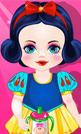 Play Baby Snow White Caring