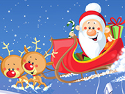Play Santa And Rudolph Sleigh Ride