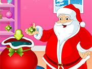 サンタのクリスマスの楽しみ