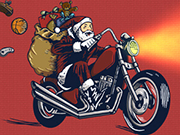 Play Santa Motocross Action