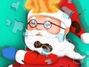 Play Santa Sleigh Accident