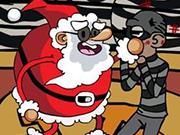 サンタ対強盗