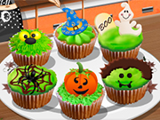Play Sara's Cooking Class: Halloween Cupcakes