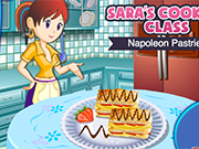 Play Sara's Cooking Class: Napoleon Pastries