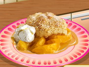 Play Sara's Cooking Class: Peach Cobbler
