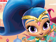 Shimmer And Shine Pencil Coloring