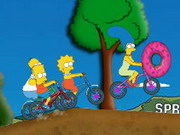 Play Simpsons Bike Rally