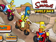 Play Simpsons Family Race