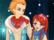Play Snow Night Couple