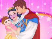 白雪姫と王子ケア新生児プリンセス