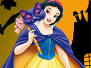 Play Snow White Halloween Pumpkin
