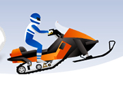 Play Snowmobile Stunt