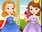Play Sofia and Amber Flower Girls