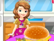 Play Sofia Cooking Hamburger