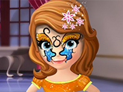 Sofia the First Face Dress Up