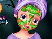 Play Sofia The First Halloween Makeover