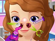 Play Sofia The First Nose Doctor