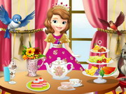 Play Sofia The First Tea Party
