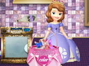 Sofia The First Washing Dresses