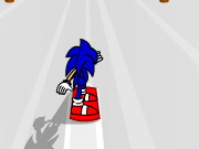Play Sonic 3d Snowboarding