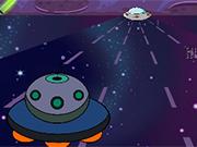 宇宙船に乗ります