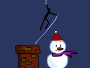 Play Spider Stickman 5 Christmas