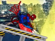 スパイダーマンバイクゲーム