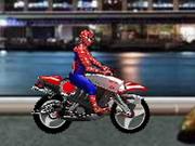 スパイダーマンバイカー