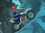 スパイダーマンアイスバイク