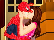 Play Spiderman Kissing