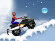 Play Spiderman Snow Scooter