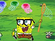 Play Sponge Bob Jellyfish Race