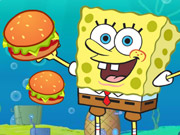 Play Spongebob Cannon Hamburgerun