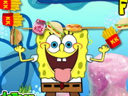 Play Spongebob Food Skewer